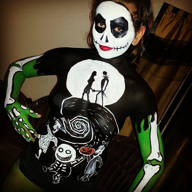 nightmare_before_christmas_body_painting