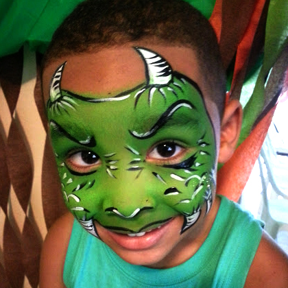 moster_face_painting