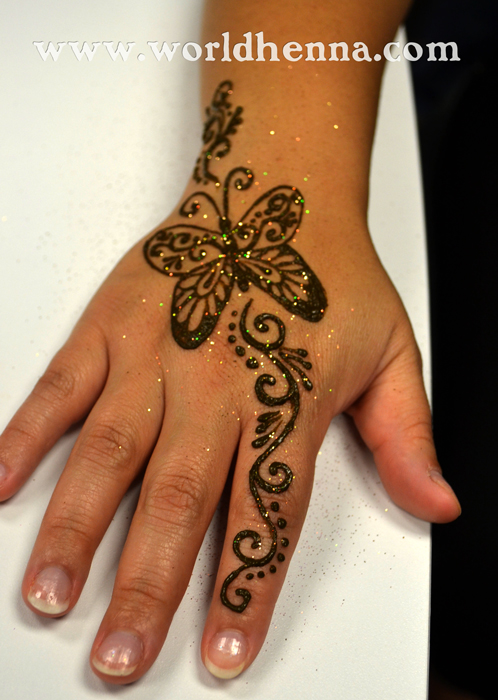 Butterfly Henna Tattoo: Henna Party « World Henna