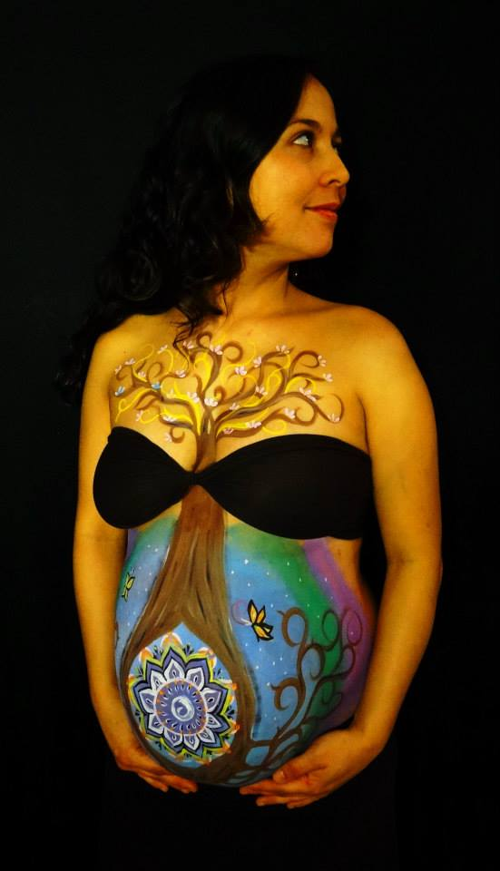 belly_painting_tree