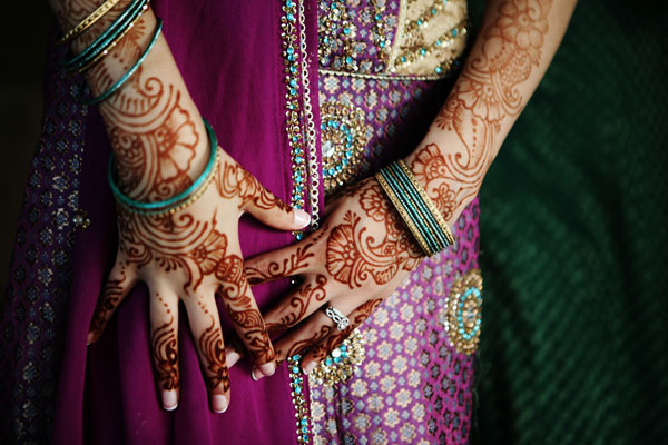 Bridal Henna Mehndi Destination Wedding