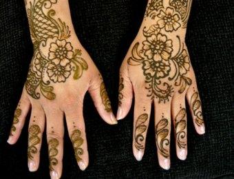 bridal henna mehndi