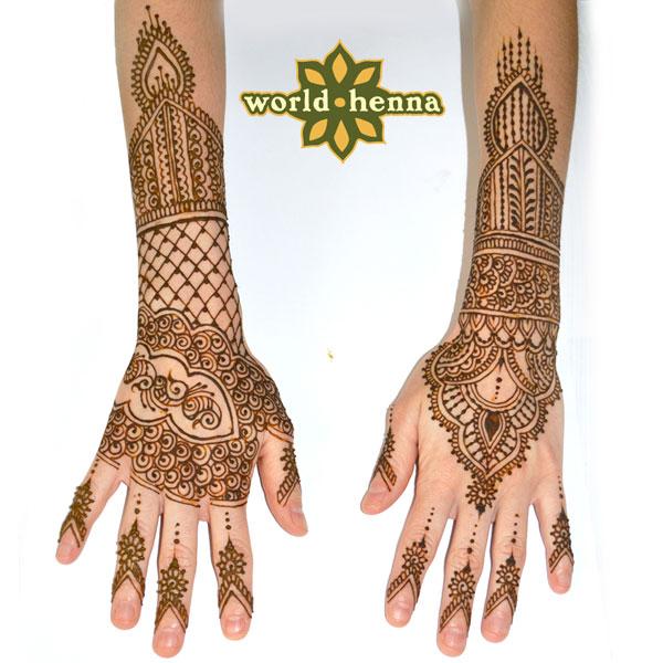 Bridal Henna Tattoo in Orlando | Bridal Mehndi Henna « World Henna